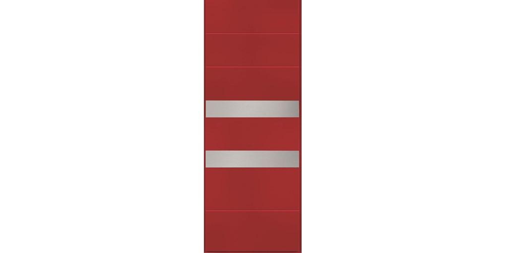 Bristol - RAL 3003 inserti acciaio (1)